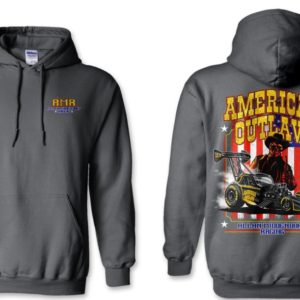 American Outlaw Hoodie Fuel Altered – Charcoal Gray