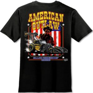 American Outlaw T-Shirt Fuel Altered – Black