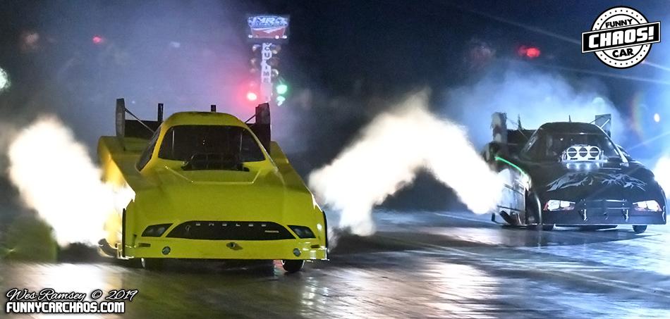 Middendorf & Ballew Triumphant in Texas Funny Car Chaos Season Opener