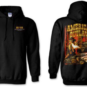 2020 American Outlaw- Black Hoodie