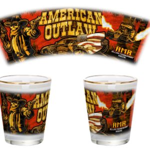 2020 American Outlaw Shot Glass