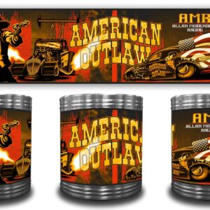 2020 American Outlaw Stainless Can Coozie
