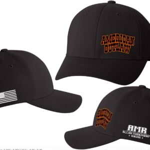 2020 American Outlaw Hat- Black