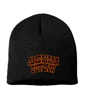 2020 American Outlaw Beanie Logo Only