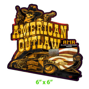 2020 American Outlaw Funny Car Decal
