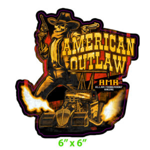 2020 American Outlaw Fuel Altered Decal