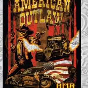 2021 American Outlaw 60×80 Fleece Blanket